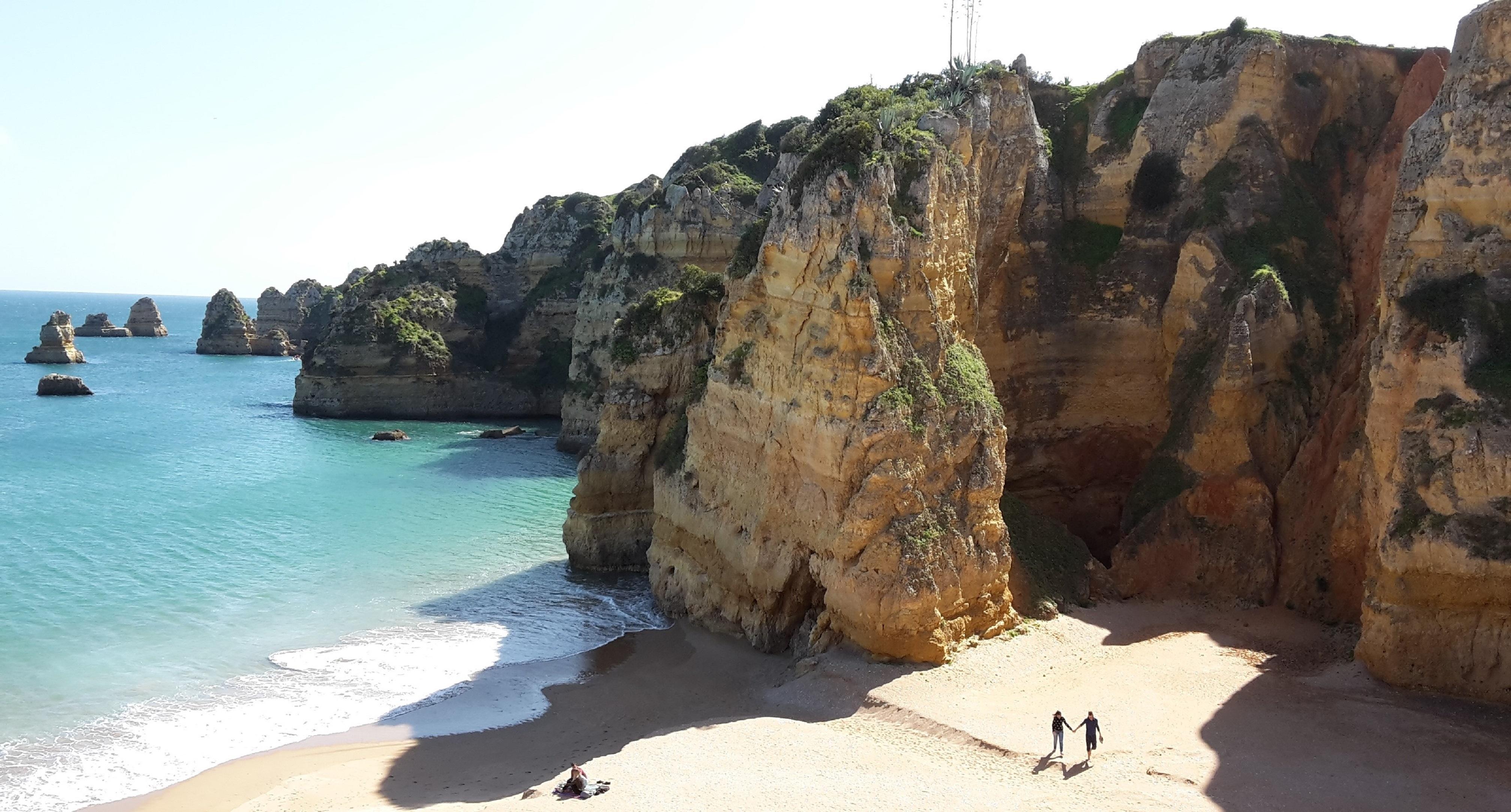 Sandstrand Lagos Portugal Algarve