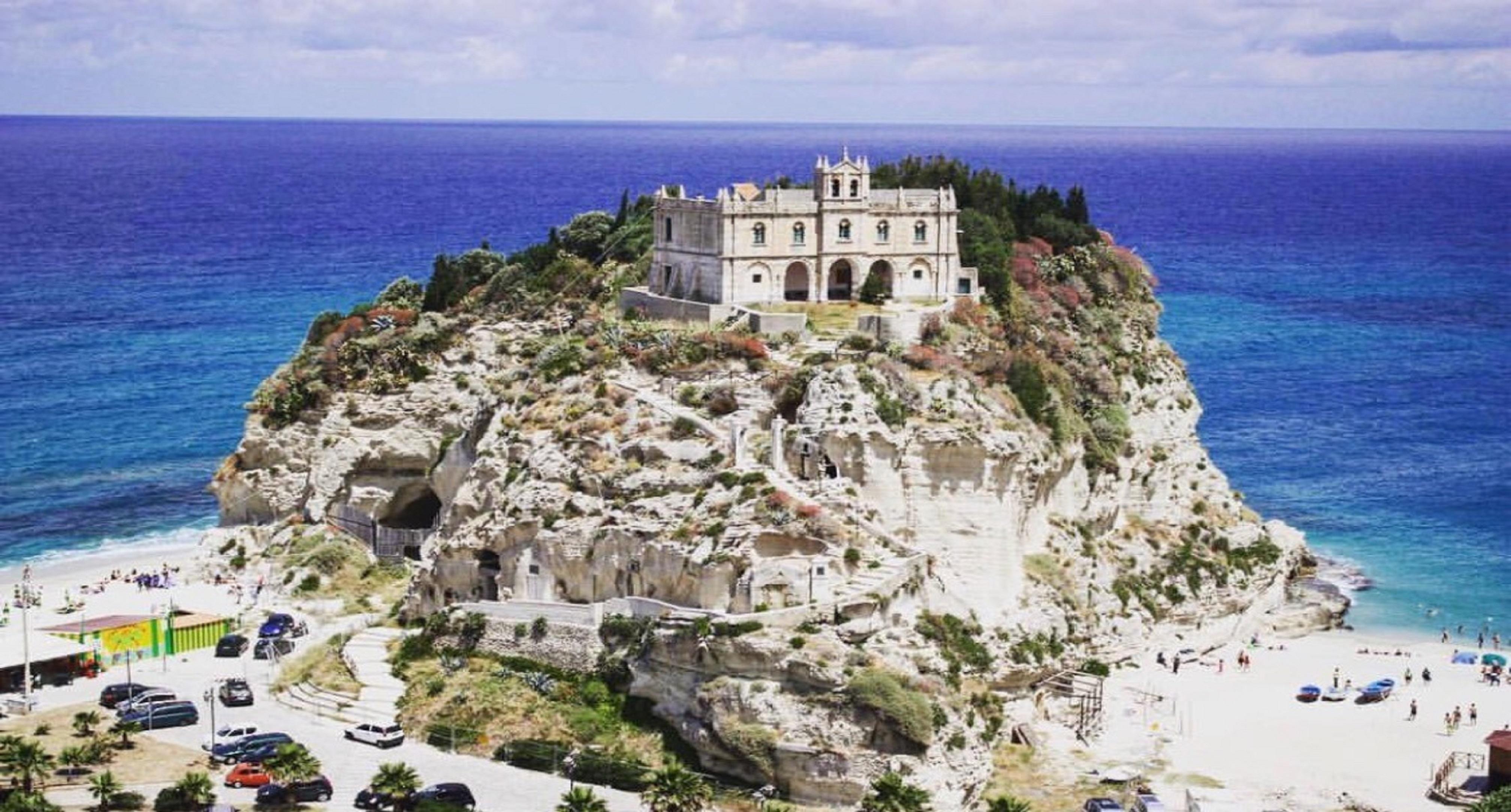 Tropea Küste Italien