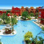 Grand Resort Hurghada Pauschalreise Angebote günstig buchen Außenanlage Pool-min