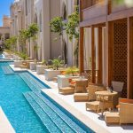 Neueröffnung The Grand Palace Hurghada günstig buchen Pauschalreise Angebot Bilder Sharing Pool Zugang Terrasse-min