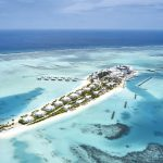 Neueröffnung Hotel RIU Atoll Malediven Pauschalreise Angebot günstig buchen Luftansicht Meer Strand-min