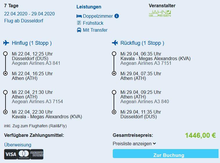 Aegean Infinity Deluxe Hotel Limenaria Thassos Pauschalreise Angebot günstig buchen Zimmer mit Flug Frühstück und Transfers ab 723 Euro pro Person-min