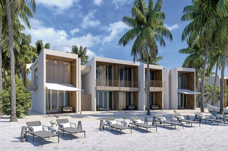 Hard Rock Hotel Maldives Bilder Beach Villa-min