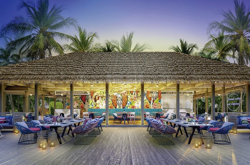 Hard Rock Hotel Maldives Bilder Restaurant-min