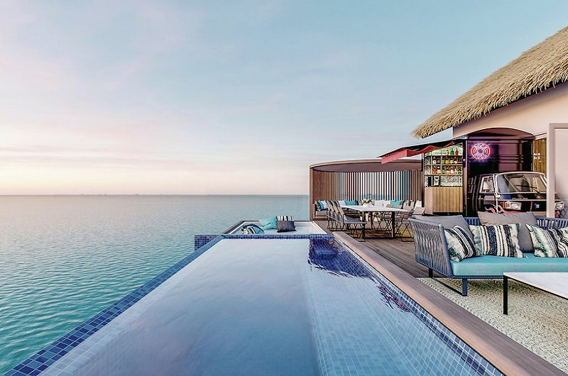 Hard Rock Hotel Maldives Bilder Water Villa-min